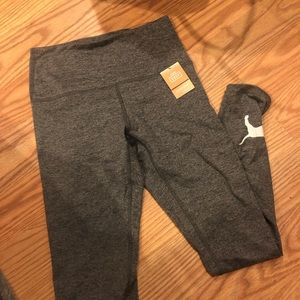 Gray Cozy High-waist Legging